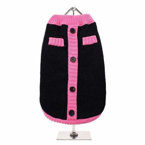 Black And Pink Mod Dog Jumper - Urban - 1