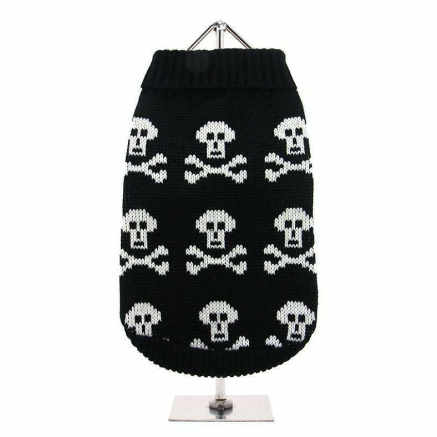 Black Skull Dog Jumper - Urban - 1