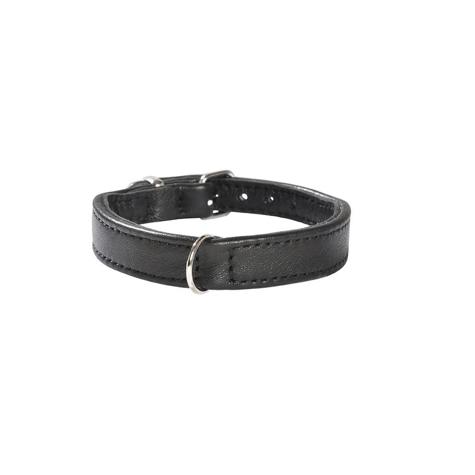 Bobby Escapade Leather Dog Collar In Black XXSmall - Sale - 1