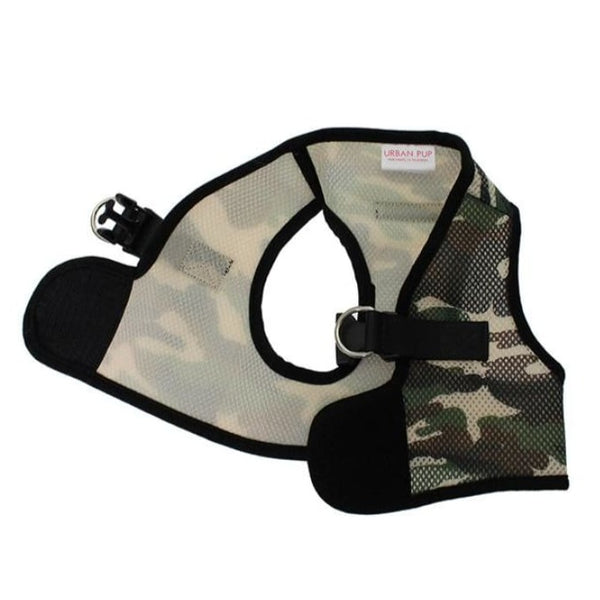 Camouflage Soft Mesh Vest Dog Harness - Urban - 3