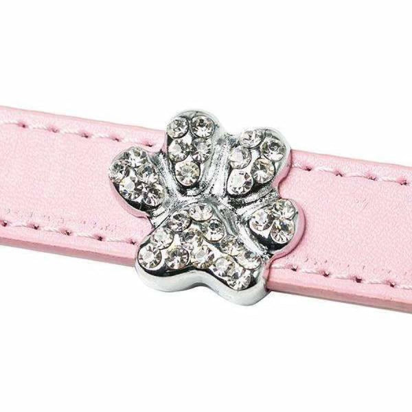 Crystal Paw 18mm Slider Collar Charm - Urban - 1