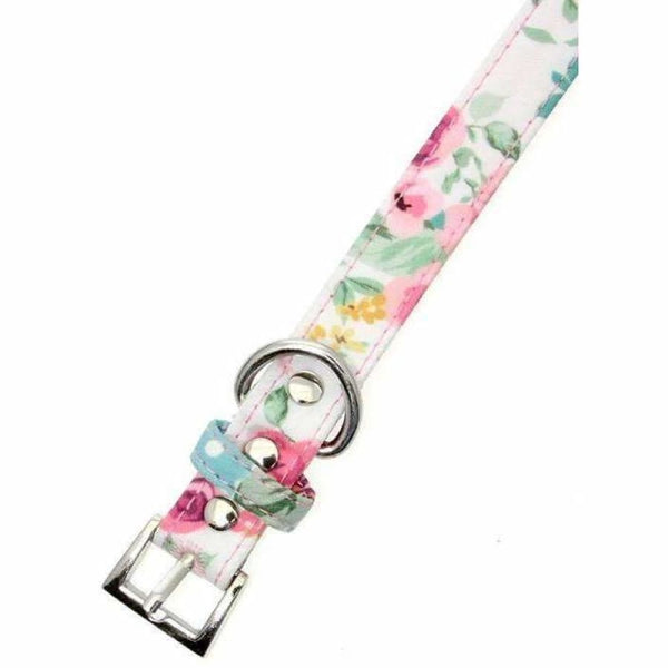 Floral Cascade Fabric Dog Collar And Lead Set - Urban - 2