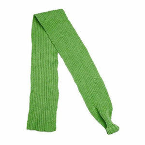 Green Knitted Dog Scarf - Urban - 1