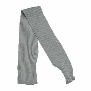 Grey Knitted Dog Scarf - Urban - 1