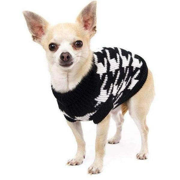 Houndstooth Dog Jumper - Urban - 2