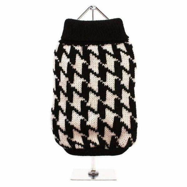 Houndstooth Dog Jumper - Urban - 1