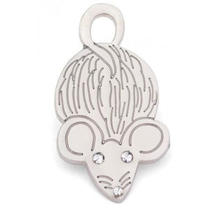 Mouse Cat ID Tag Collar Charm - Sale - 1