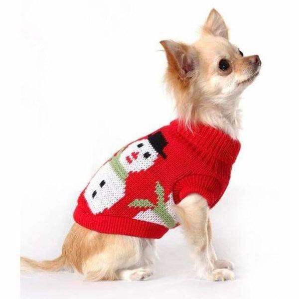 Snowman Dog Jumper - Urban - 2