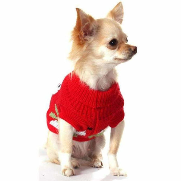 Snowman Dog Jumper - Urban - 3