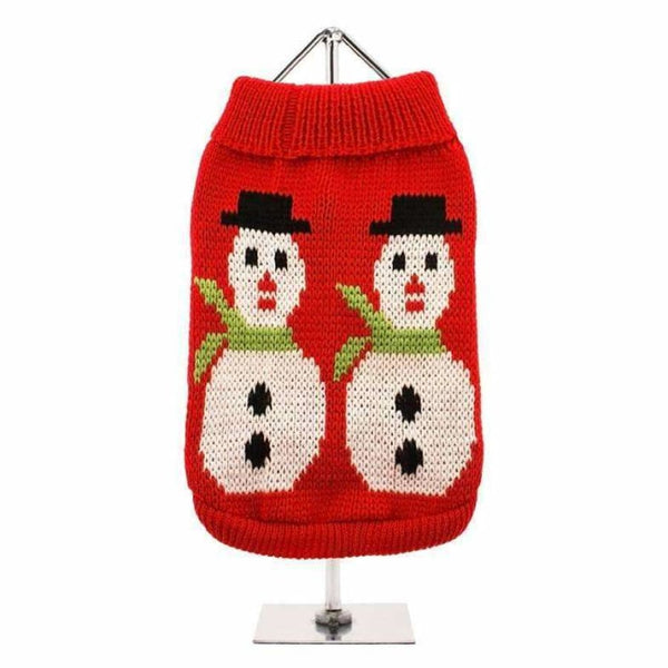 Snowman Dog Jumper - Urban - 1
