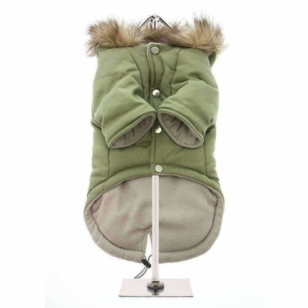 Urban Pup Mod Fishtail Parka Dog Coat XS - Sale - 3