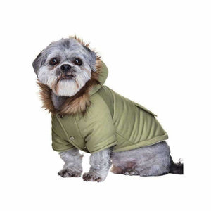 Urban Pup Mod Fishtail Parka Dog Coat XS - Sale - 1