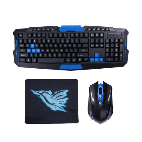 2.4G USB Gaming Wireless Keyboard and Mouse Flawless Bundle-Shop Deal Anchor
