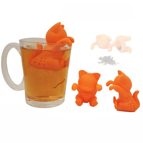 Cat Lovers Kitten Tea Strainer and Infuser-Shop Deal Anchor