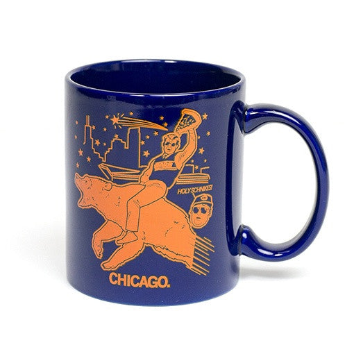 Chicago Bears Holy Schnikes Mug