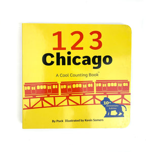 123 Chicago Counting Board Book