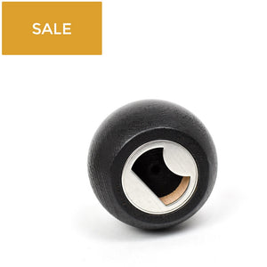 Black Sphere Bottle Opener