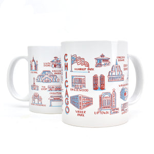 2018 Mugs for Meals Chicago Landmarks Mug