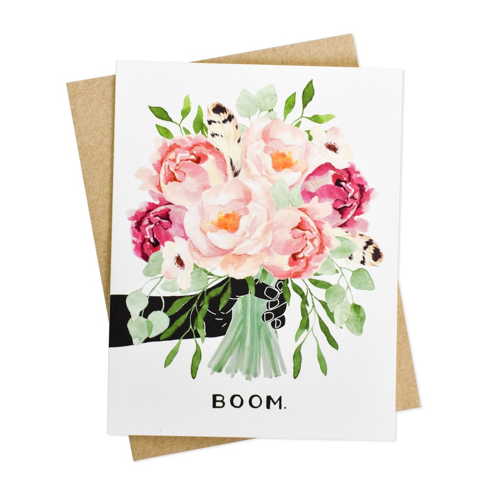 Boom Bouquet Card