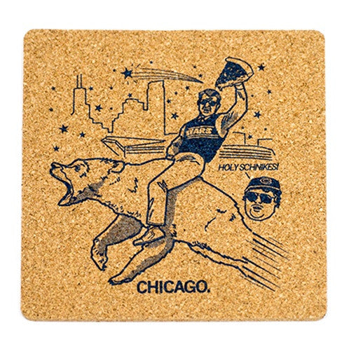 Chicago Bears Holy Schnikes Coaster