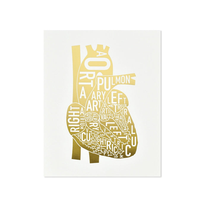 Typographic Heart 8