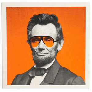 "Abe Magnet 12.5"" x 12.5"" Screen Print"
