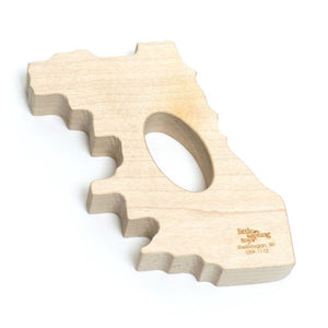 Chicago Wood Baby Teether