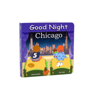 Good Night Chicago Book