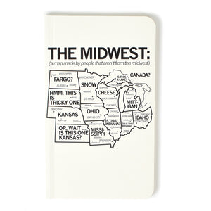 Midwest Map Notebook