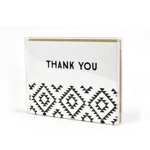 Kilim Thank You Card Box