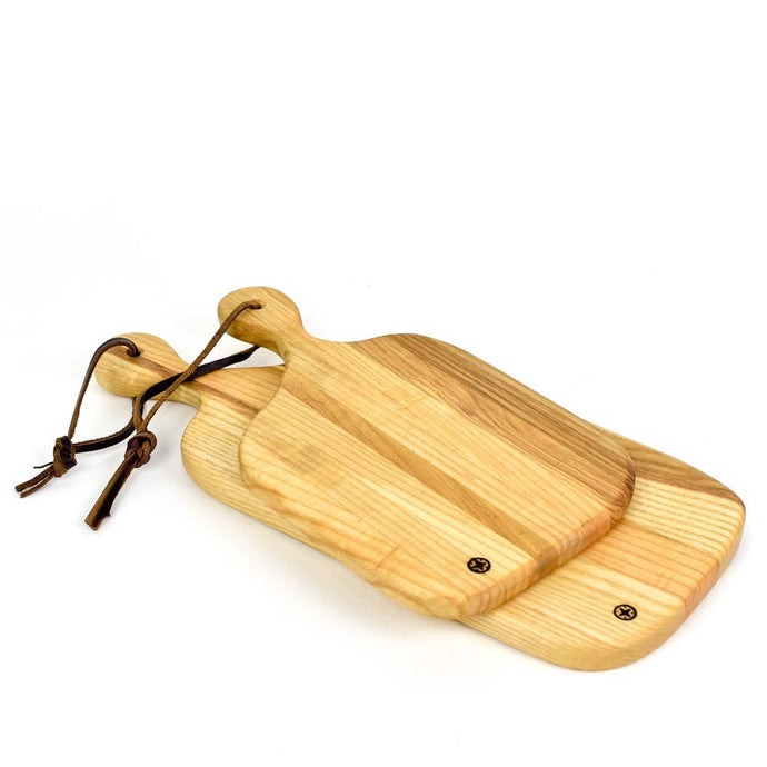 Reclaimed Wood Serving Board with Handle