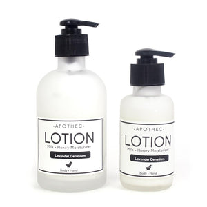 Coconut Milk & Honey Lotion