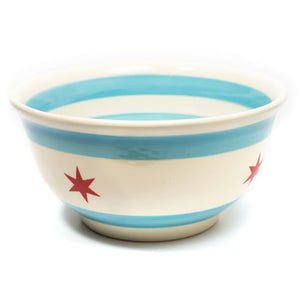 "Chicago Flag 10.5"" Bowl"