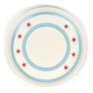 "Chicago Flag 11"" Platter"