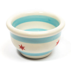 "Chicago Flag 4.5"" Small Bowl"
