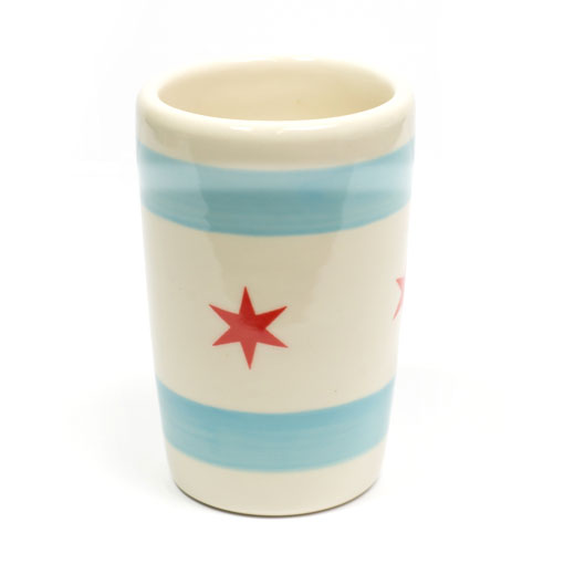 Chicago Flag 18 oz Tumbler Cup