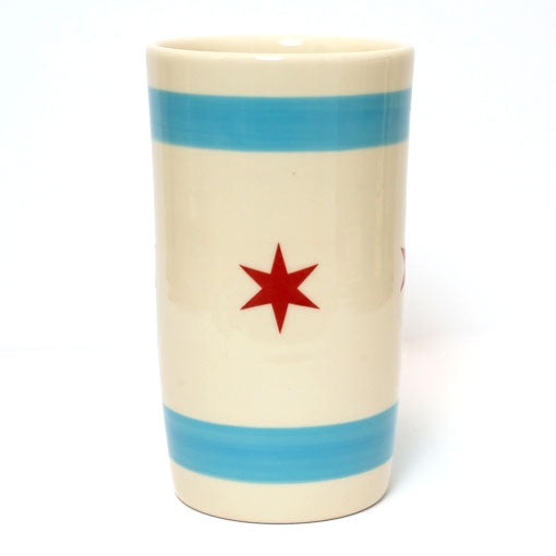 Chicago Flag Utensil Holder