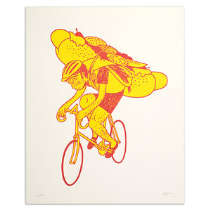 "Special Delivery 16"" x 20"" Screen Print"