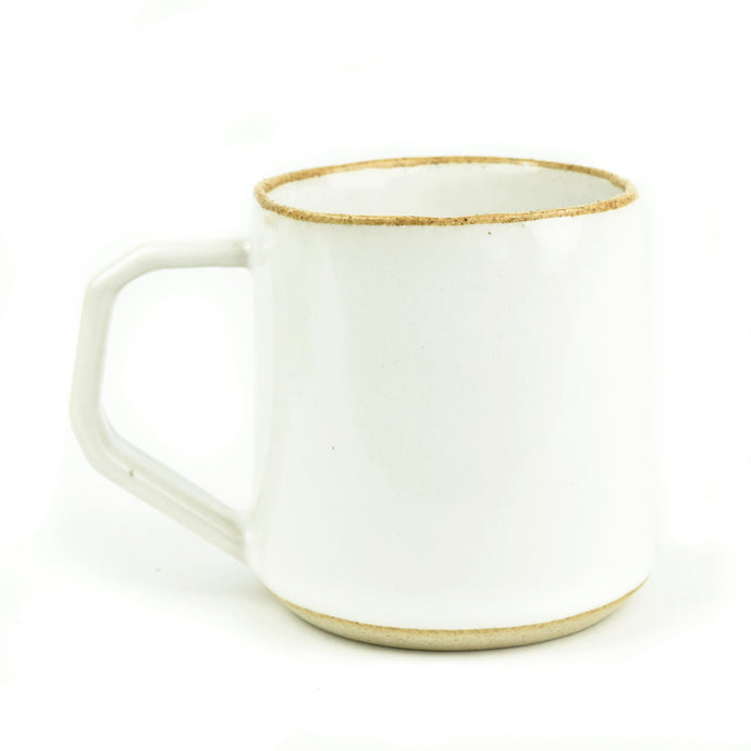 Minimal Off-white and Sand Ceramic Mug