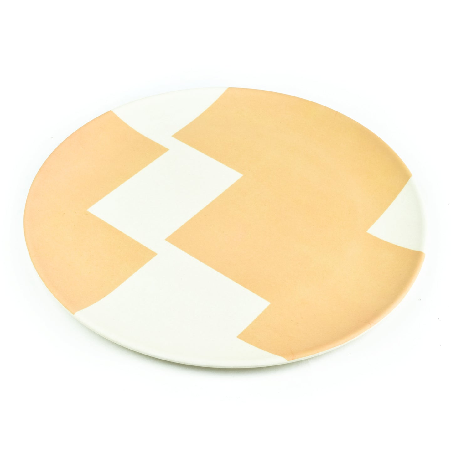 Reusable Bamboo Patterned Dinner Plates (Set of 4)