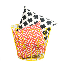 "Yellow Wire 15"" Storage Basket"