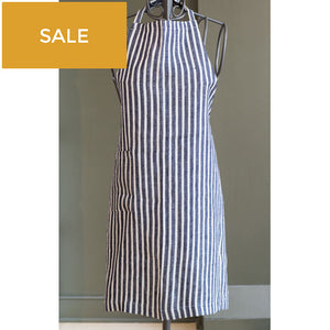 Navy & White Daily Apron