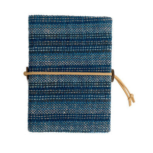 Fair Trade Natural Dyed Fabric Journal Notebook
