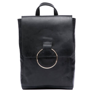 Fair Trade Fozi Leather Backpack