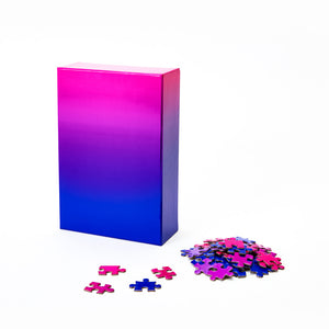 Gradient Color Jigsaw Puzzle
