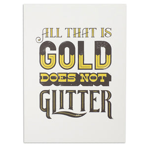 "All That is Gold 12"" x 16"" Print"