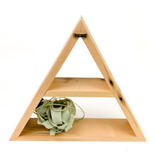 Reclaimed Wood Triangle Shelves