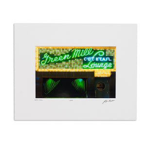 "Green Mill 8"" x 10"" Photo"