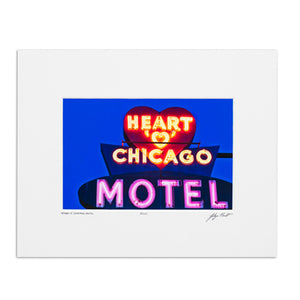 "Heart O'Chicago 8"" x 10"" Photo"
