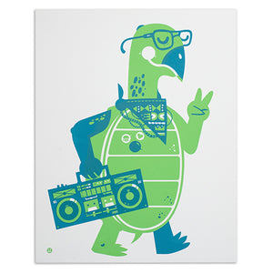 "Slow Jamz 16"" x 20"" Screen Print"